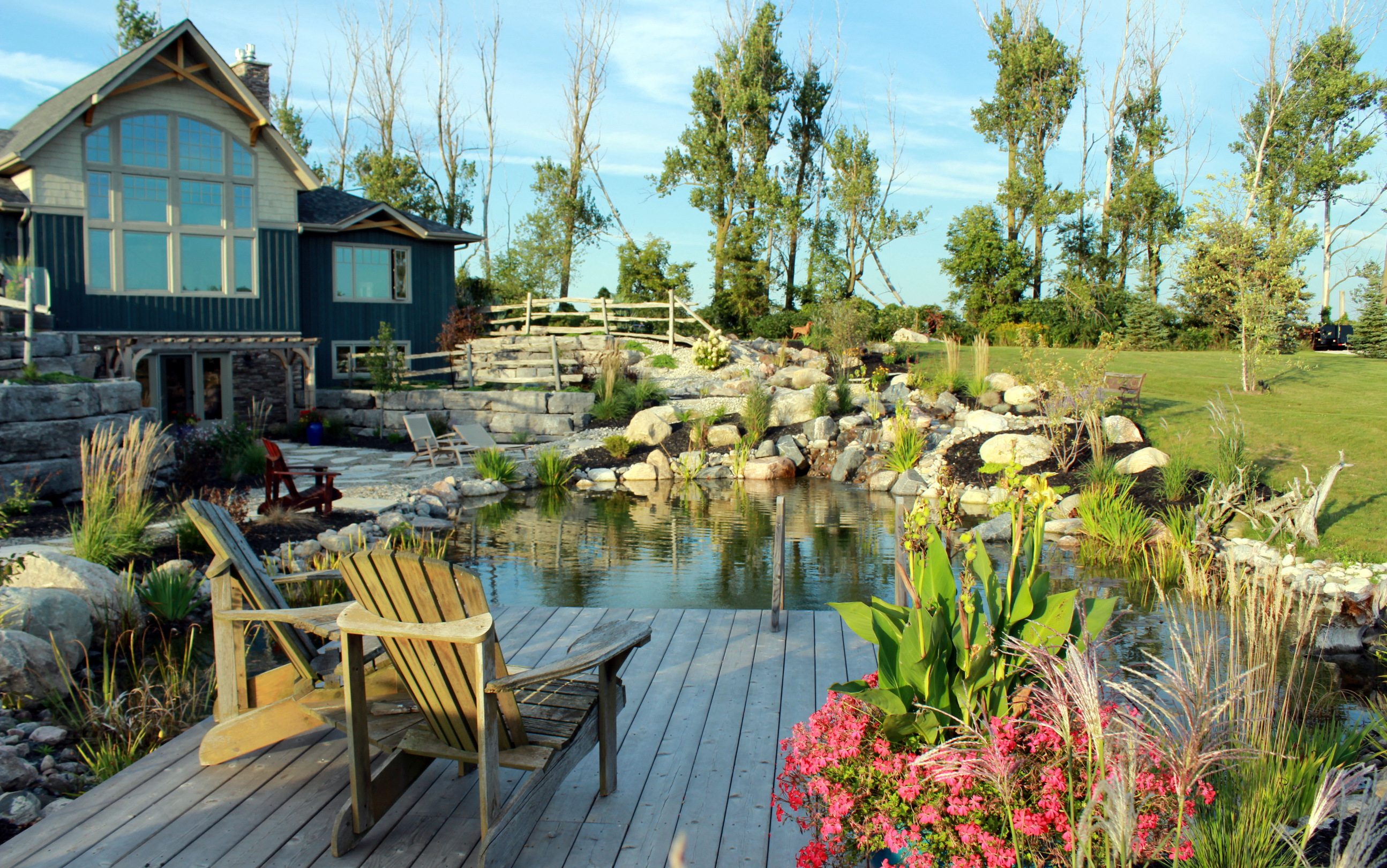quiet nature ltd natural swimming pools and ponds
