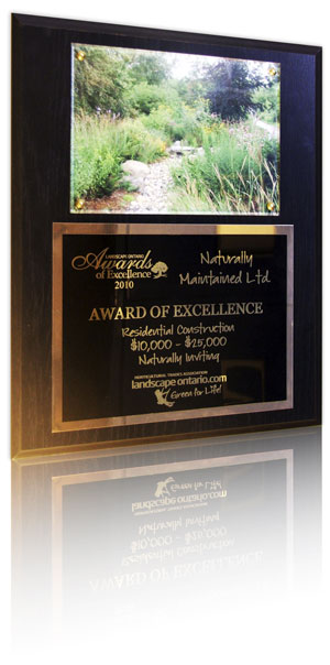 landscape design award winner