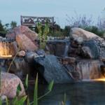 Adding Large Waterfalls to Natural Ponds