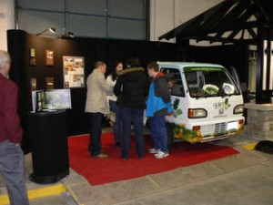 Zero Emission Landscape Maintenance booth