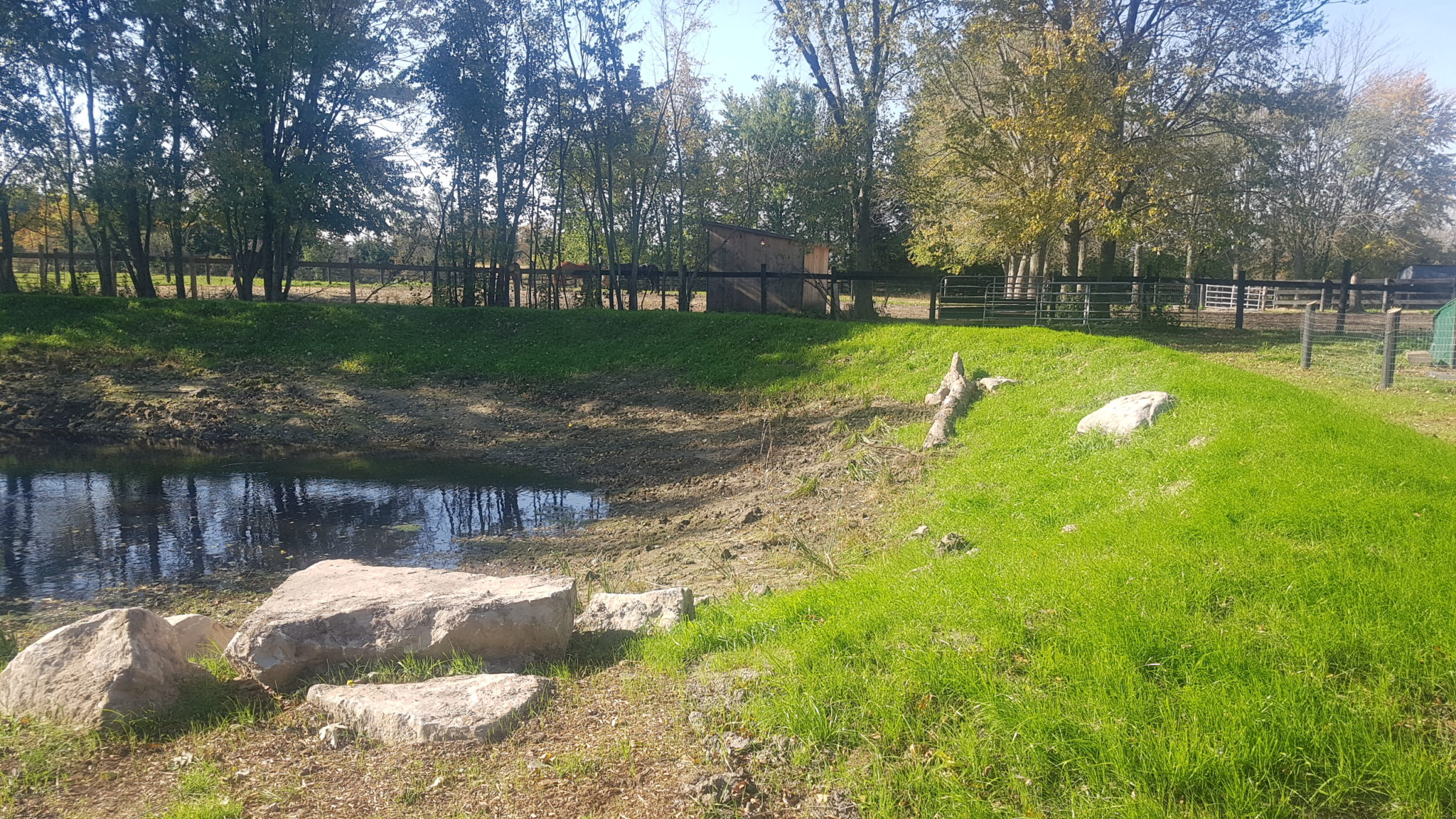 Earth Pond Construction And Rehab service page lower photo 2
