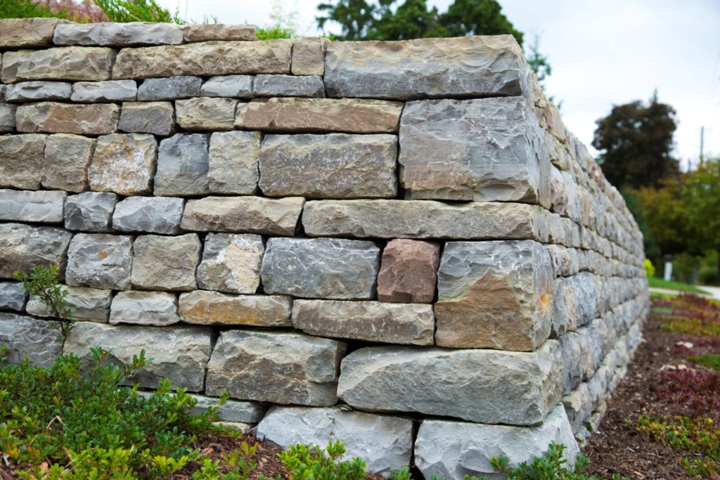 Drystone wall in Waterloo